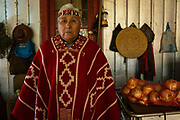 Don Mario Mila Millalen, 69 is a senior Mapuche political leader, known in their language as the Lonko of the Lonkos. Hes been a political activist all his adult life. He has been involved in governmental meetings  dating back several Chilean presidents, including meetings with former General A. Pinochet in an attempt to improve the living and working conditions of the Mapuches and above all else resolve the hotly disputed matter of the expropriation of their ancestral lands. Loncoche, Chile. February 12, 2018.