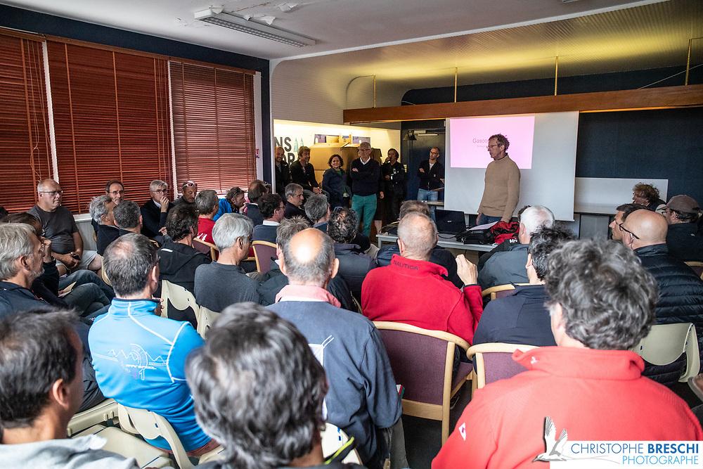 Régate habitable organisée par la SRR à La Rochelle