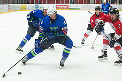 JEGLIC Ziga (SLO) during OI pre-qualifications of Group G between Slovenia men's national ice hockey team and Japan men's national ice hockey team, on February 9, 2020 in Ice Arena Podmezakla, Jesenice, Slovenia. Photo by Peter Podobnik / Sportida