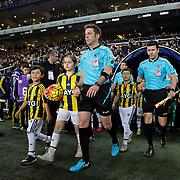 Referee Firat Aydinus during their Turkish super league soccer match Fenerbahce between Kayserispor at the Sukru Saracaoglu stadium in Istanbul Turkey on Sunday 13 March 2016. Photo by Kurtulus YILMAZ/TURKPIX