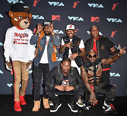 Naughty By Nature and Redman pose in the Press Room during the 2019 MTV Video Music Awards at Prudential Center on August 26, 2019 in Newark, NJ, USA. Photo by Lionel Hahn/ABACAPRESS.COM
