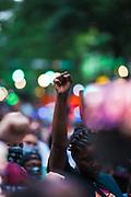 June 9, 2020: Black Lives Matter vigil and street mural in uptown Charlotte NC