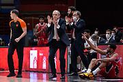Messina Ettore <br /> A X Armani Exchange Milano - Valencia Basket  <br /> Euroleague 2020/2021<br /> Milano, 12/01/2021<br /> Foto Ciamillo-Castoria/ Claudio Degaspari