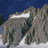 Palisade Glacier & 14,242-foot North Palisade Peak.