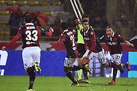 Esultanza Gol Adam Masina Bologna Goal celebration <br /> Bologna 21-11-2015 Stadio Dall'Ara Football Calcio 2015/2016 Serie A Bologna - AS Roma Foto Andrea Staccioli / Insidefoto