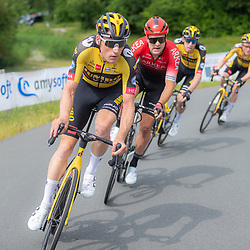 WIJSTER (NED) June 20: <br /> CYCLING <br /> Dutch Nationals Road Men up and around the Col du VAM<br /> Mike Teunissen, Bram Welten