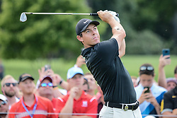 August 10, 2018 - Town And Country, Missouri, U.S - RORY MCILROY from Northern Ireland tees off on hole number three during round two of the 100th PGA Championship on Friday, August 10, 2018, held at Bellerive Country Club in Town and Country, MO (Photo credit Richard Ulreich / ZUMA Press) (Credit Image: © Richard Ulreich via ZUMA Wire)