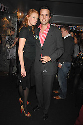 OLIVIA INGE and CHARLIE GILKES at a party to celebrate the 1st birthday of nightclub Kitts, 7-12 Sloane Square, London on 5th March 2008.<br />