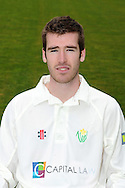 John Glover. Glamorgan County Cricket Club, season 2012, photocall at the Swalec Stadium in Cardiff. pic by Andrew Orchard