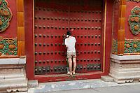 Chine, Pékin (Beijing), Cité interdite, classée Patrimoine Mondial de l' UNESCO // China, Beijing, The Forbidden City