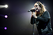 Heavy metal pioneer Ozzy Osbourne Performing at Scottrade Center in St. Louis, Missouri, on January 14, 2011.