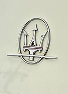 2007 Maserati Quattroporte Sport GT (Bianco Eldorado) .Badge, logo, emblem .Corporate Drive Day with Octane Events & The Supercar Club.Mornington Pennisula, Victoria .6th-7th of August 2009 .(C) Joel Strickland Photographics