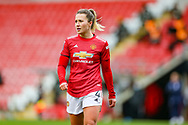 Manchester United defender Amy Turner (40 during the FA Women's Super League match between Manchester United Women and Reading LFC at Leigh Sports Village, Leigh, United Kingdom on 7 February 2021.