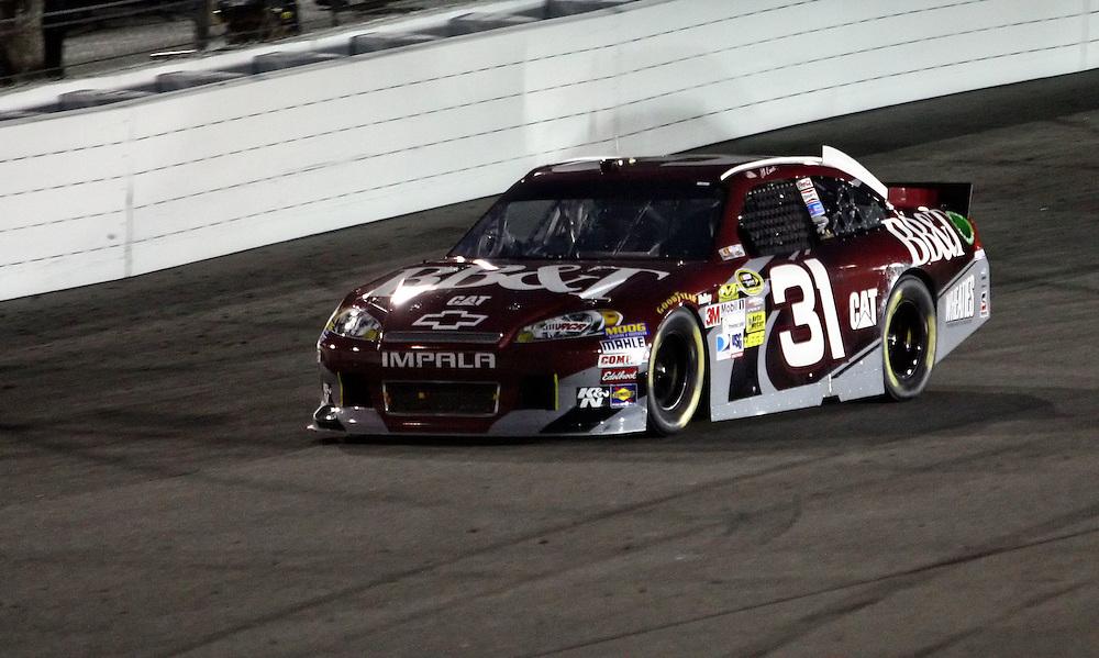 Apr 28, 2012; Richmond, VA, USA; NASCAR Sprint Cup driver Jeff Burton (31) during the Capital City 400 at Richmond International Raceway. Mandatory Credit: Peter Casey-US PRESSWIRE.