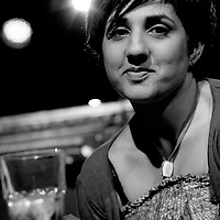 Zaiba Malik<br /> On stage at the Stoke Newington Literary Festival. 6 June 2010<br /> <br /> Picture by David X Green/Writer Pictures