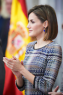 111715 Spanish Royals Deliver the National Sports Awards 2014