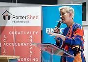 17/05/2019   MEP Candidate Maria Walsh got a big push from party leader and Taoiseach Leo Varadkar in Galway  as the team canvassed the town in the Portershed which was celebrating its' third Birthday.. Photo:Andrew Downes, Xposure