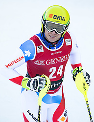 29.12.2016, Deborah Compagnoni Rennstrecke, Santa Caterina, ITA, FIS Ski Weltcup, Santa Caterina, alpine Kombination, Herren, Slalom, im Bild Nils Mani (SUI) // Nils Mani of Switzerland reacts after his run of Slalom competition for the men's Alpine combination of FIS Ski Alpine World Cup at the Deborah Compagnoni race course in Santa Caterina, Italy on 2016/12/29. EXPA Pictures © 2016, PhotoCredit: EXPA/ Johann Groder