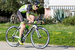 Ziga Groselj of KK Sava Kranj during prologue (2km) of 13th Istrian Spring Trophy cycling race on March 10, 2016 in Umag, Croatia. Photo by Urban Urbanc / Sportida