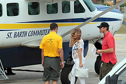 """File picture of Fergie of The Black Eyed peas enjoying St Barts lifestyle. The island was a paradise until September 6, 2017. Hurricane Irma left a trail of """"absolute devastation"""", destroying houses, snapping trees and killing at least eight persons as it tore across the tiny Caribbean island of St Barts on Wednesday with 185-mile-per-hour winds. Photo by Papixs/ABACAPRESS.COM"""