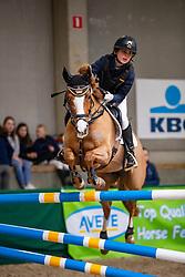 Dierickx Lente, BEL, Ilona van de Bochten<br /> Nationaal Indoor Kampioenschap Pony's LRV <br /> Oud Heverlee 2019<br /> © Hippo Foto - Dirk Caremans<br /> 09/03/2019