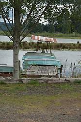 Rowboat Dock at Silver Lake State Park, Cowlitz County, Washington, US