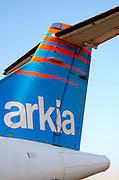 Arkia Airlines ATR 72 Propellor aeroplane