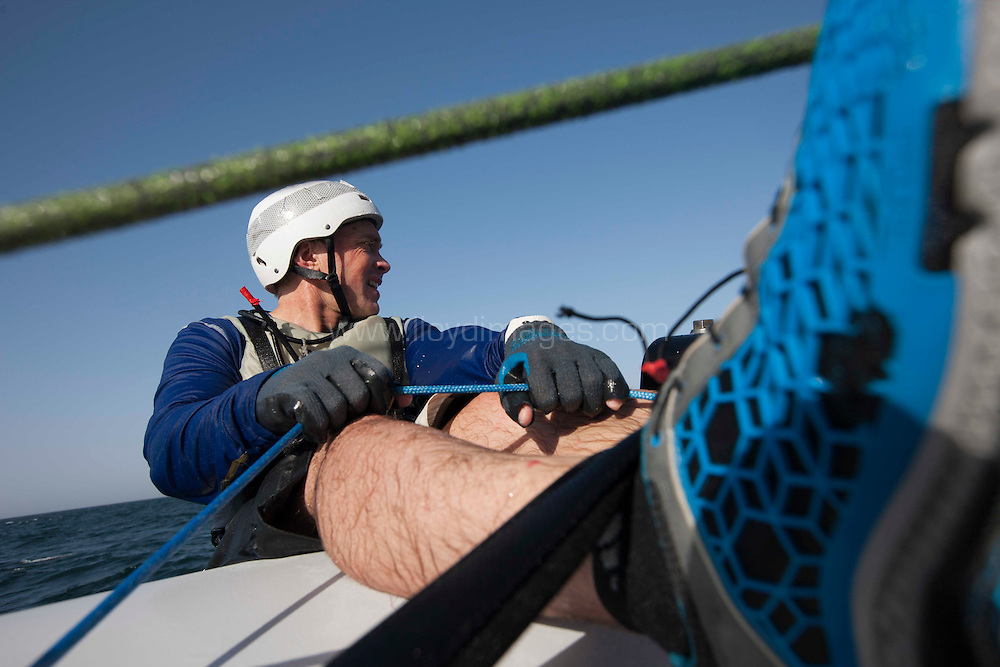 The Extreme Sailing Series 2013. Act 1. Muscat. Oman.Please credit: Lloyd Images