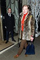 Henry Conway, Claridge's Christmas Tree - party, Claridge's Hotel, London UK, 26 November 2013, Photo by Raimondas Kazenas