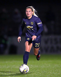 Manchester United's Kirsty Smith