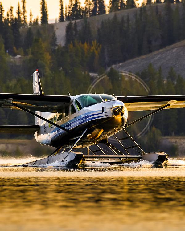 Showing the full propeller-disc on the Cessna 208 Caravan