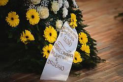 during funeral of former bishop Jozef Smej, on November 24, 2020 in Bogojina, Slovenia. Photo by Blaž Weindorfer / Sportida
