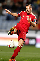Spain's Paco Alcacer during 15th UEFA European Championship Qualifying Round match. November 15,2014.(ALTERPHOTOS/Acero)
