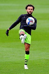 Dominic Bernard of Forest Green Rovers warms up prior to kick-off - Mandatory by-line: Nizaam Jones/JMP - 17/10/2020 - FOOTBALL - innocent New Lawn Stadium - Nailsworth, England - Forest Green Rovers v Stevenage - Sky Bet League Two