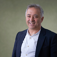 Frank Cottrell Boyce at the Edinburgh International Book Festival 2014. 9th August 2014<br /> <br /> Picture by Russell G Sneddon/Writer Pictures