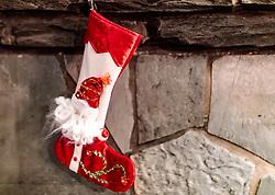 THEMENBILD - Nikolaus oder Weihnachtsstrumpf, aufgenommen am 28. November 2017 in Ruka, Finnland // Santa Claus or Christmas stocking on 2017/11/28 in Ruka, Finland. EXPA Pictures © 2017, PhotoCredit: EXPA/ JFK
