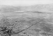 "9305-A4303-3 ""Airport survey for C. F. C. re. Army airport. Nov. 16, 1940"" aerial views of farmland near Columbia river."