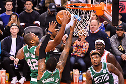 October 19, 2018 - Toronto, Ontario, Canada - Player during the Toronto Raptors vs Boston Celtics NBA regular season game at Scotiabank Arena on October 19, 2018 in Toronto, Canada (Toronto Raptors win 113-101) (Credit Image: © Anatoliy Cherkasov/NurPhoto via ZUMA Press)