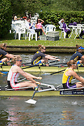 Henley Royal Regatta, Henley on Thames, Oxfordshire, 3-7 July 2013.  Friday  12:10:59   05/07/2013  [Mandatory Credit/Intersport Images]<br /> <br /> Rowing, Henley Reach, Henley Royal Regatta.<br /> <br /> The Princess Grace Challenge Cup<br /> Leander Club and Minerva Bath Rowing Club v Nottingham Rowing Club