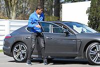 Raphael Varane  - 23.03.2015 -Equipe de France - Arrivee des joueurs a Clairefontaine<br />Photo : Andre Ferreira / Icon Sport