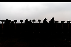 THEMENBILD - Die demilitarisierte Zone (DMZ) ist eine entmilitarisierte Zone. Sie teilt die Koreanische Halbinsel in Nord- und Südkorea und wurde nach dem drei Jahre dauernden Koreakrieg im Jahre 1953 eingerichtet. Die DMZ ist 248 Kilometer lang und ungefähr vier Kilometer breit. In ihrer Mitte verläuft die Militärische Demarkationslinie (MDL), die Grenze zwischen Nord- und Südkorea. Die DMZ wird von der aus Vertretern beider Seiten bestehenden Waffenstillstandskommission MAC (von engl. Military Armistice Commission) verwaltet. Das Betreten der DMZ ohne Genehmigung der Waffenstillstandskommission ist beiden Seiten grundsätzlich untersagt. Hier im Bild Dora Observatory. Aufgenommen am 28. Februar 2018 // The Korean Demilitarized Zone (DMZ) is a strip of land running across the Korean Peninsula. It is established by the provisions of the Korean Armistice Agreement to serve as a buffer zone between the Democratic People's Republic of Korea (North Korea) and the Republic of Korea (South Korea). The demilitarized zone (DMZ) is a border barrier that divides the Korean Peninsula roughly in half. It was created by agreement between North Korea, China and the United Nations in 1953. The DMZ is 250 kilometres (160 miles) long, and about 4 kilometres (2.5 miles) wide. In the Picture: Dora Observatory . DMZ on 28th February 2018. EXPA Pictures © 2018, PhotoCredit: EXPA/ Johann Groder