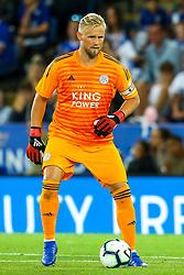 Kasper Schmeichel of Leicester City - Mandatory by-line: Robbie Stephenson/JMP - 01/08/2018 - FOOTBALL - King Power Stadium - Leicester, England - Leicester City v Valencia - Pre-season friendly
