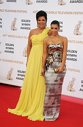Kim Kardashian and her mother Chris arriving at the 49th Monte-Carlo TV Festival closing ceremony in Monaco on June 11, 2009. Photo by Denis Guignebourg/ABACAPRESS.COM  | 191079_075