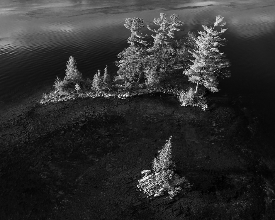 https://Duncan.co/two-small-islands-black-and-white