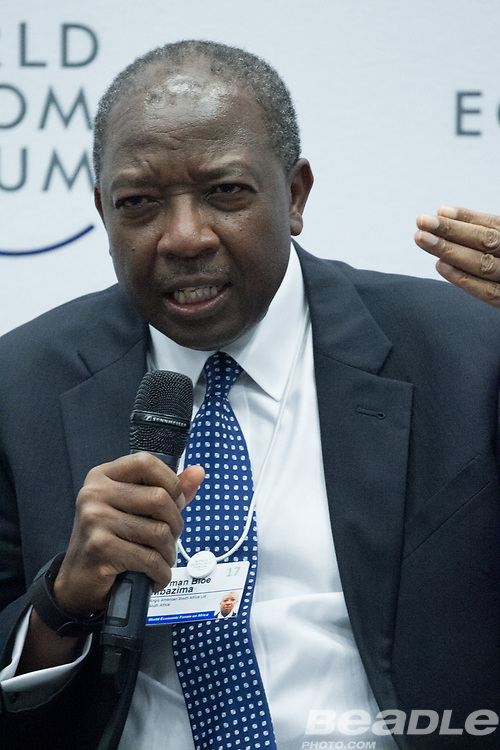 Norman Bloe Mbazima, Deputy Chairman<br /> Anglo American South Africa, South Africa at the World Economic Forum on Africa 2017 in Durban, South Africa. Copyright by World Economic Forum / Greg Beadle