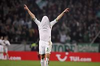 Fotball<br /> Bundesliga Tyskland<br /> Foto: imago/Digitalsport<br /> NORWAY ONLY<br /> <br /> Petri Pasanen (Bremen) hat sich zum Torjubel das Trikot über den Kopf gezogen