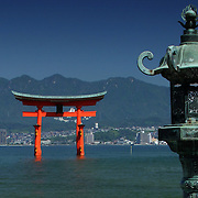 Otorii from Hirabu Tai, Miyajima, Japan (June 2004)