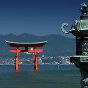 Otorii from Hirabu Tai, Miyajima, Japan (June 2004)