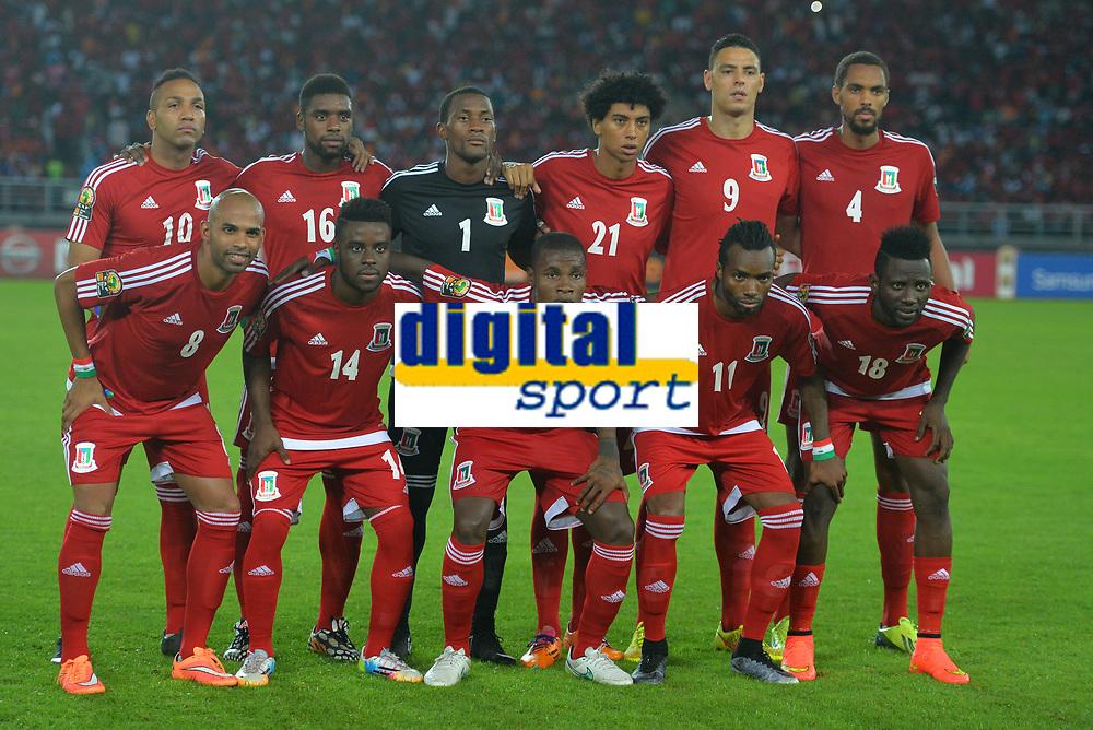 Equipe Guinee equatoriale<br /> Emilio N'Sue - Sipo - Felipe Ovono - Iván Zarandona - Raúl Iván Fabiani - Rui --<br /> Randy - Kike - Diosdado Mbele - Javier Balboa - Ellong Viera