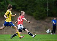 Kristine Heggland. Norway-Sweden, WU17 Four Nation's Tournament. Eerikkilä, Finland, 25.5.2007. Photo: Jussi Eskola